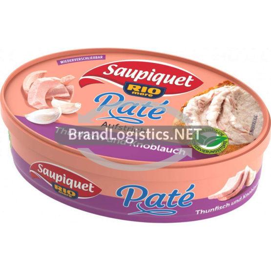 """Saupiquet Rio Mare Thunfisch Brotaufstrich """"Thunfisch & Knoblauch"""" 115 g"""