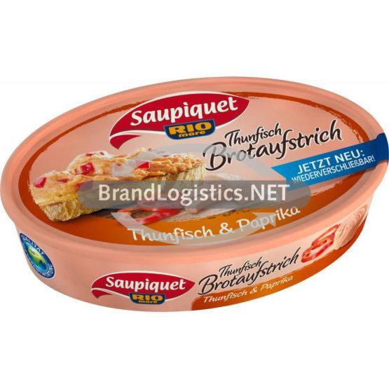 """Saupiquet Rio Mare Thunfisch Brotaufstrich """"Thunfisch & Paprika"""" 115 g"""