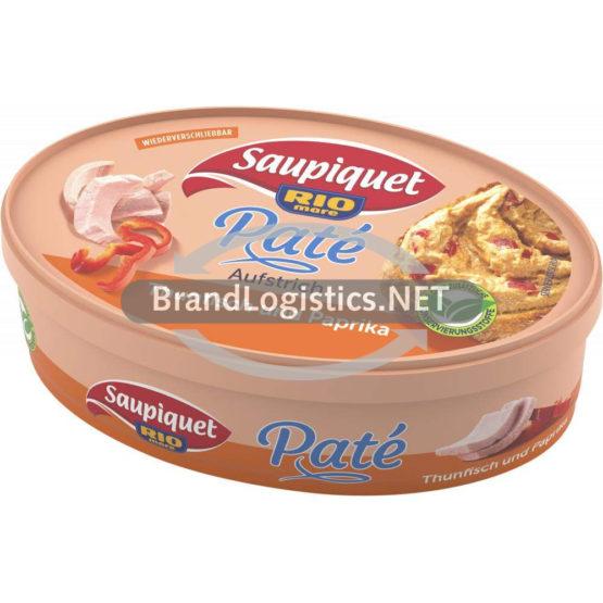 Saupiquet Rio Mare Paté Aufstrich Thunfisch und Paprika 115 g