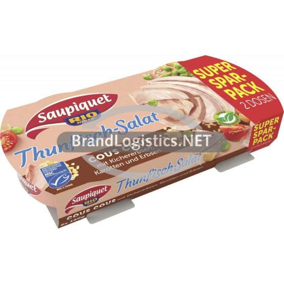 Saupiquet Rio Mare Thunfisch-Salat Duopack Cous Cous MSC 2×160 g