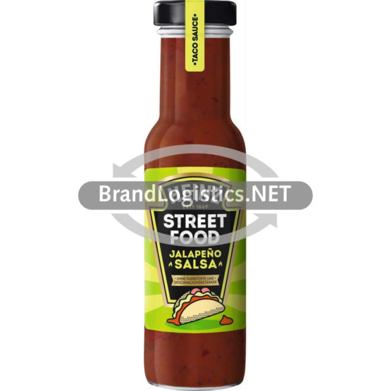 Heinz Streetfood Taco Sauce Jalapeno Salsa 235 ml