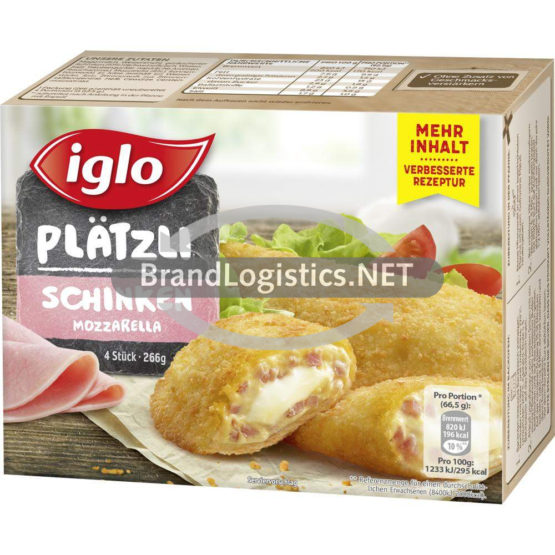 Iglo Plätzli Schinken Mozzarella 266 g