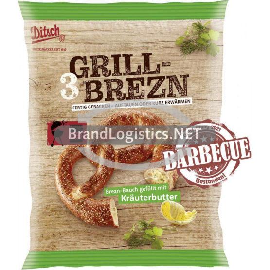 Ditsch Grill-Brezn Kräuterbutter 3×81 g
