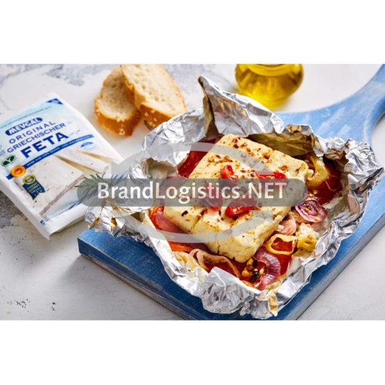Knusprig gebackener Saganaki mit Mevgal Feta-Käse