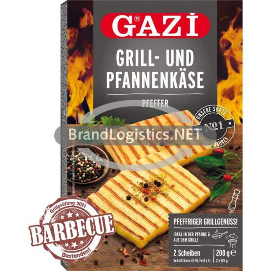 GAZI Grill- und Pfannenkäse Pfeffer 2×100 g