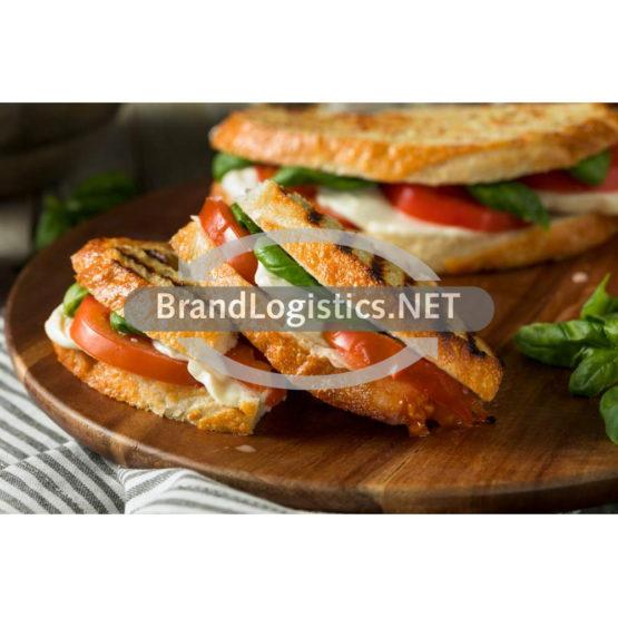 Caprese Sandwich mit Tallero Mozarella