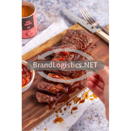 Rindersteak mit Tomatenchutney und Just Spices BBQ Gewürz