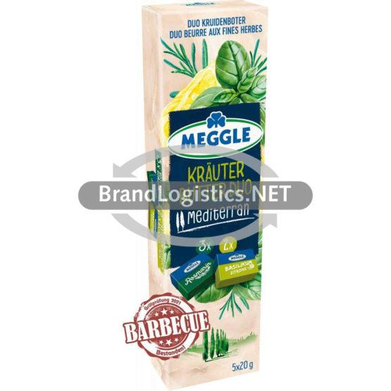 Meggle Kräuter-Butter Duo Mediterran 5×20 g