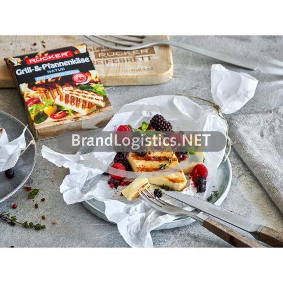 Rücker Grillkäse mit süßen Beeren und Thymian