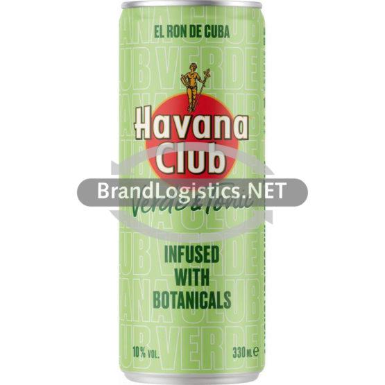 Havana Club Verde & Tonic 10% Vol. 0,33 l