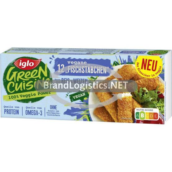 Iglo 12 Fischstäbchen vegan 336 g