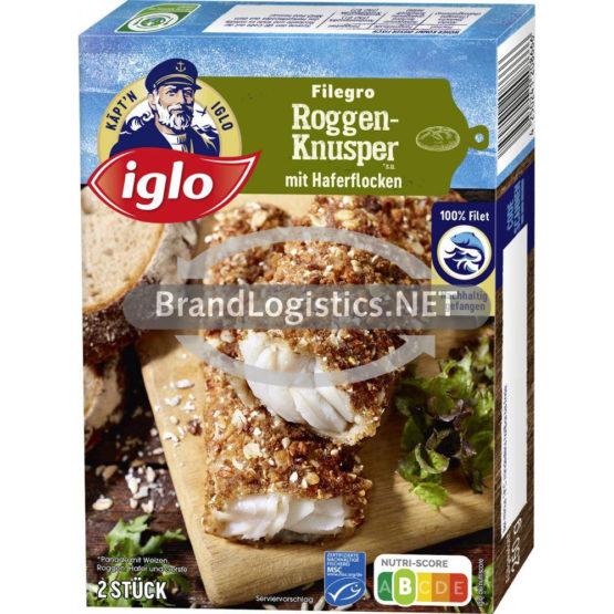 Iglo Filegro Roggen-Knusper 250 g
