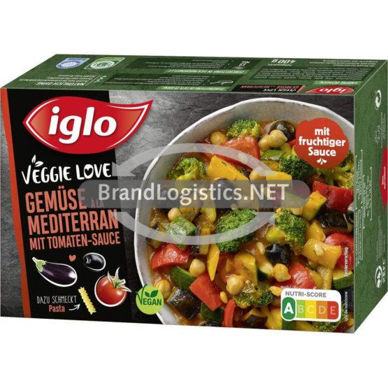 Iglo Veggie Love Gemüse a la Mediterran 400 g