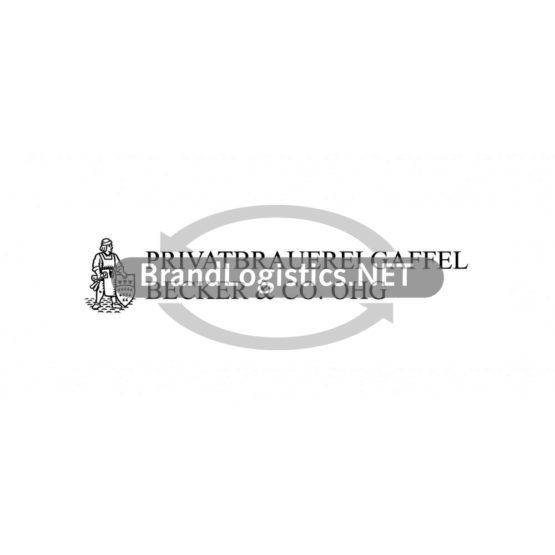 Privatbrauerei Gaffel Logo schwarz