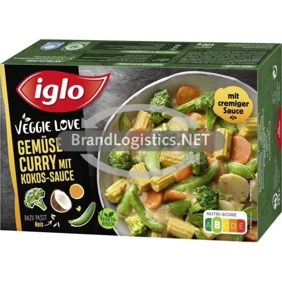 Iglo Veggie Love Gemüse Curry mit Kokos-Sauce 400 g