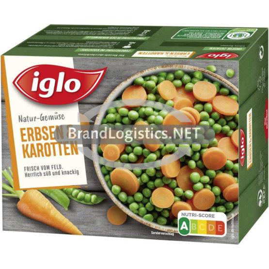 Iglo Erbsen und Karotten 540 g