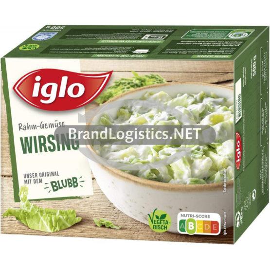 Iglo Rahm-Gemüse Wirsing 500 g