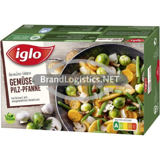 Iglo Gemüse Ideen Gemüse-Pilz-Pfanne 480 g