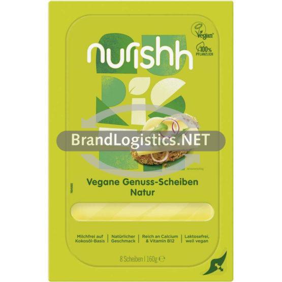 Nurishh Vegane Genuss-Scheiben Natur 160 g