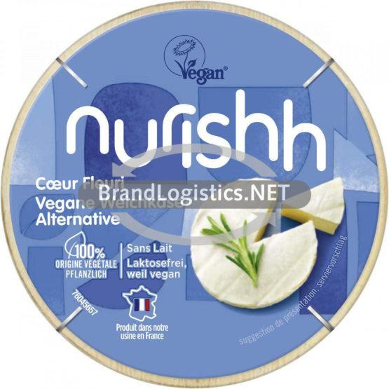 Nurishh Vegane Weichkäse-Alternative 140 g