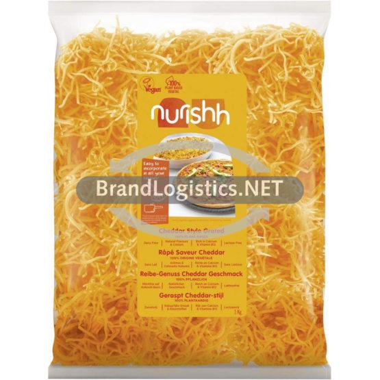 Nurishh Veganer Reibe-Genuss Cheddar-Geschmack 1 kg