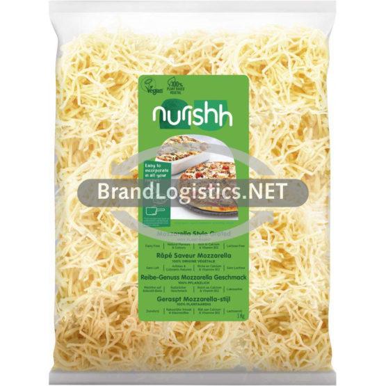 Nurishh Veganer Reibe-Genuss Mozzarella-Geschmack 1 kg