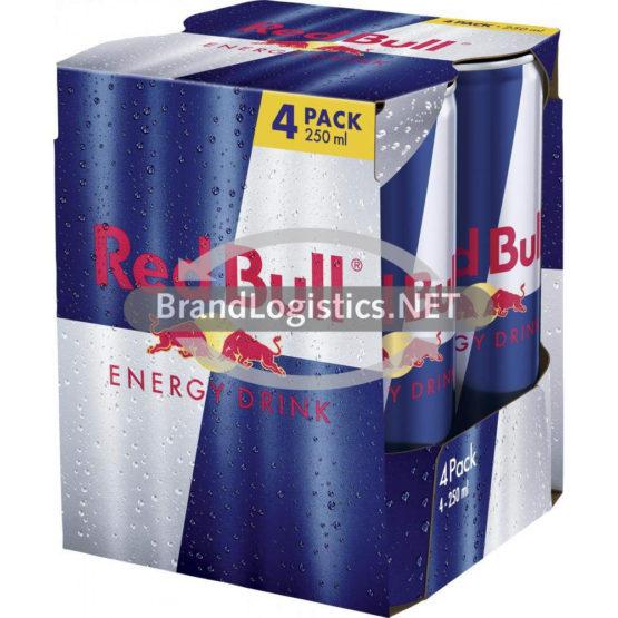 Red Bull Energy Drink 4×250 ml