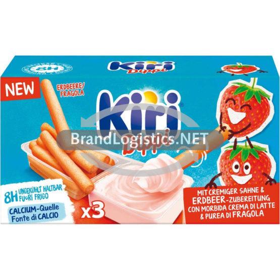 Kiri Dippi Erdbeere 3P 105 g
