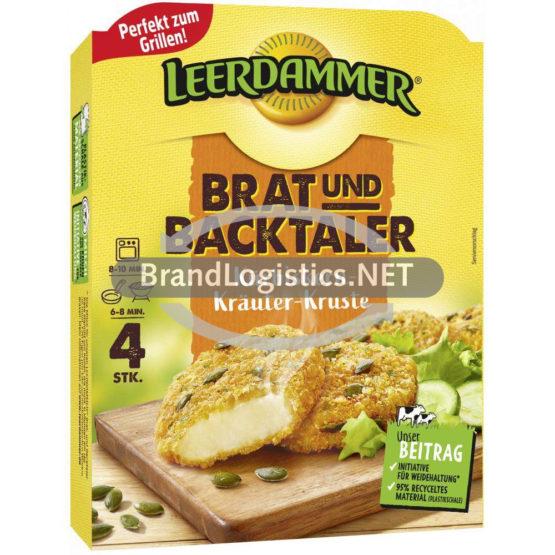 Leerdammer Brat- und Backtaler Kürbiskern-Kräuter-Kruste 160 g