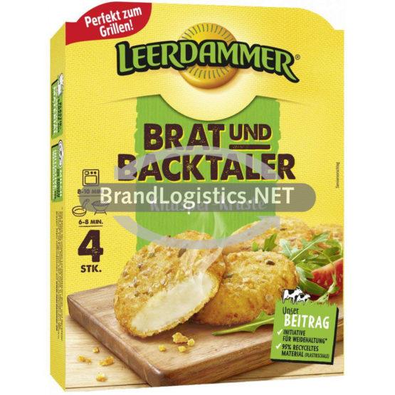Leerdammer Brat- und Backtaler Knusper-Kruste 160 g