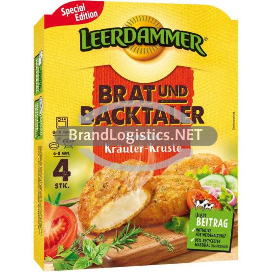 Leerdammer Brat- und Backtaler Tomate-Kräuter-Kruste 160 g