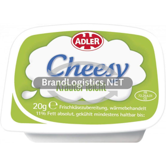 ADLER Cheesy Kräuter leicht 2x54x20 g