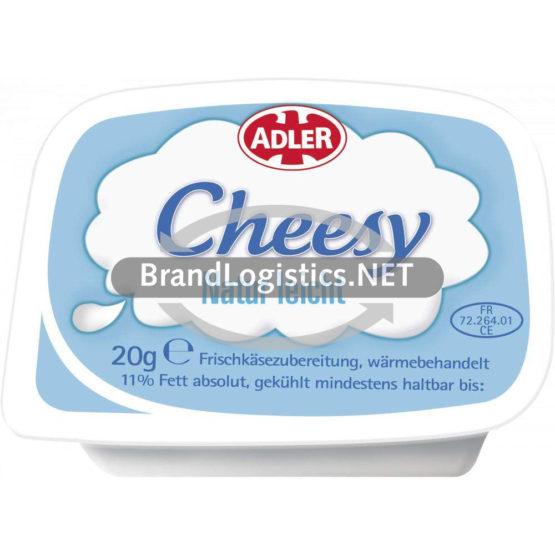 ADLER Cheesy Natur leicht 2x54x20 g