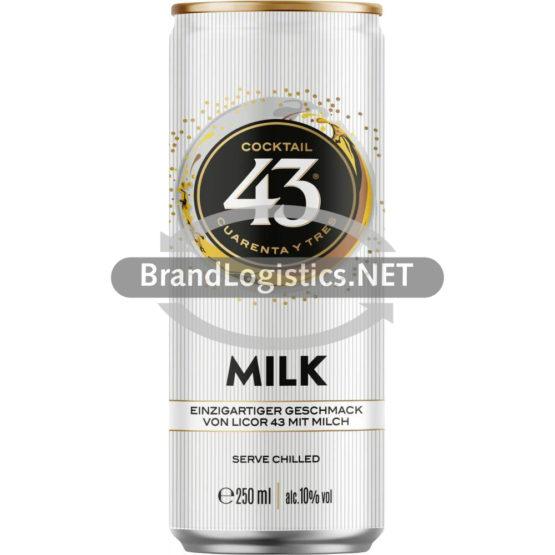 Licor 43 & Milk 10% 0,25 l