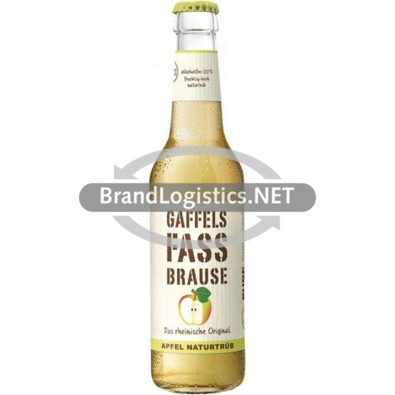 Gaffels Fassbrause Apfel naturtrüb Flasche 0,33 l