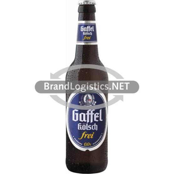 Gaffel Kölsch Frei 0,0% Flasche 0,5 l