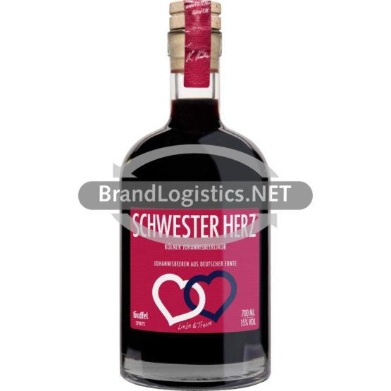 SCHWESTER HERZ Flasche 0,7 l