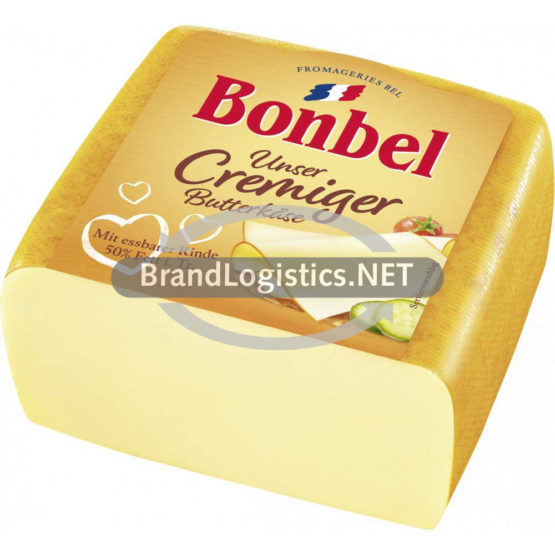 Bonbel Butterkäse 1/2 Brot 1,15 kg