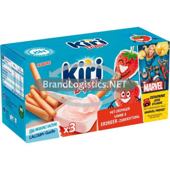 Kiri Dippi Erdbeere 3P Back-to-School Marvel Promotion 105 g