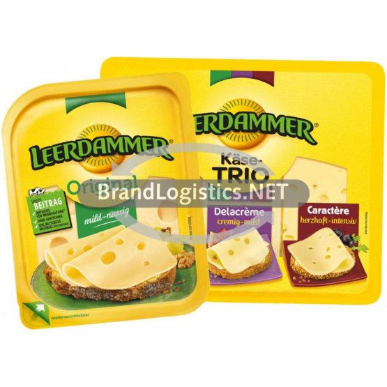 Leerdammer Original 160 g und Leerdammer Käse-Trio 145 g