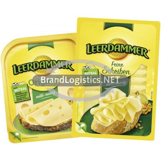 Leerdammer Original 160 g und Leerdammer Feine Scheiben zart-nussig 110 g