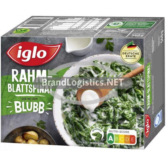 Iglo Rahm-Blattspinat 540 g