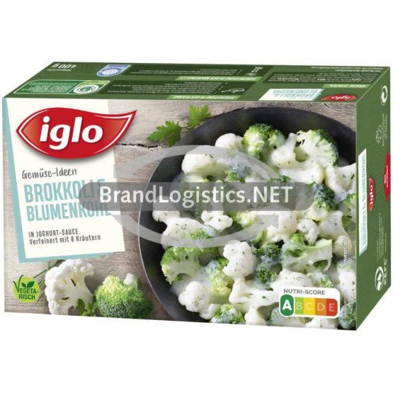 Iglo Gemüse Ideen Brokkoli & Blumenkohl in Joghurt-Sauce 400 g