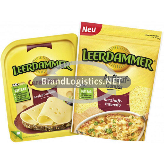 Leerdammer Caractère 140 g und Leerdammer Auflauf-Genuss 160 g