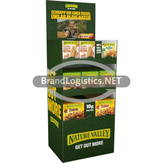 Nature Valley Topseller Display