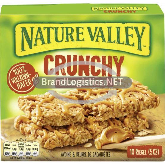Nature Valley Crunchy Erdnussbutter Riegel 5×42 g