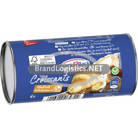 Knack&Back Croissants 6×42 g