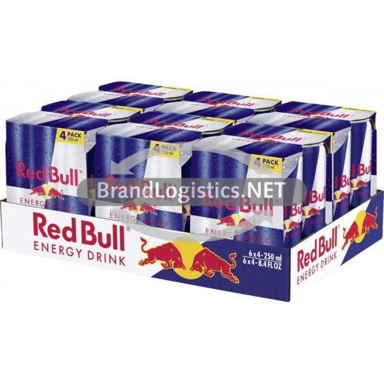 Red Bull Energy Drink 250 ml 4PK DPG Tray