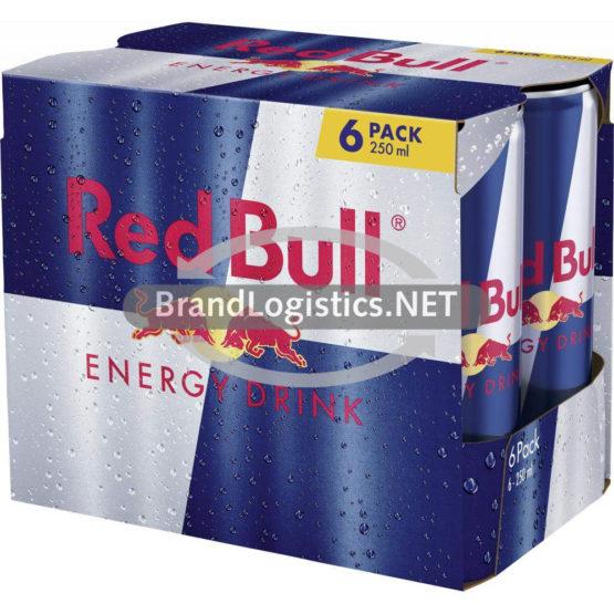 Red Bull Energy Drink 6×250 ml DPG