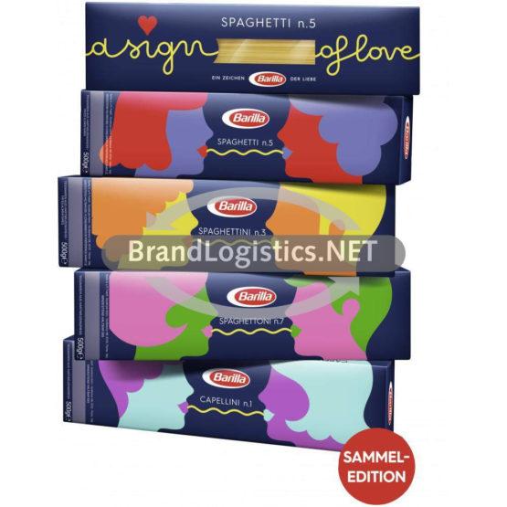 5er Stapel Spaghetti n.3 – n.5 – n.7 und Capellini n.1 – Limited Edition
